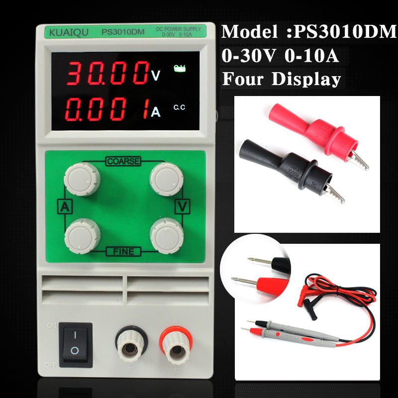 PS3010DM 0.1V 0.001A 110V/220V Mini professional switching DC power supply ,adjustable laboratory power supply wanptek kps602d professional switching dc power supply adjustable laboratory power supply 110v 220v voltage regulated for lab