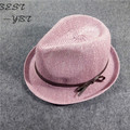 Spring and summer hat Ms. Korean tidal breathable cotton bow hat jazz hat elegant shopping and leisure hat