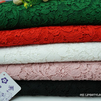 150*150cm French nylon cotton lace fabric eyelash lace trim for Home Apparel Textiles Sewing Lace Fabric
