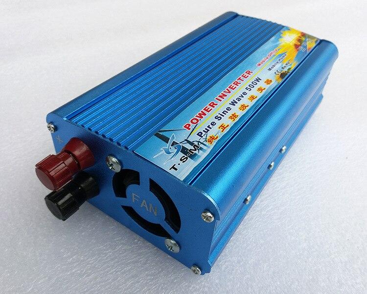 цена на Home use Off gird 500W 12VDC to 220VAC pure sine wave solar power inverter