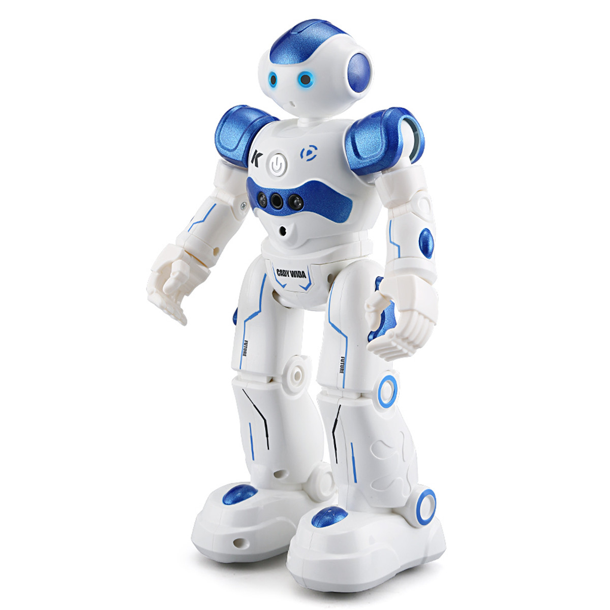 Fansaco Intelligent Voice Robot Dancing Toy Gesture Control Rc Robot Action Figure Programming Birthday Gift For Kids Children Fashionable In Style;