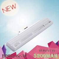 White Loptop Battery for sony VGP BPS13A/R VGP BPS13AB VGP BPS13B VGP BPS13B/B VGP BPS13B/Q VGP BPS21 VGP BPS21A VGP BPS21B