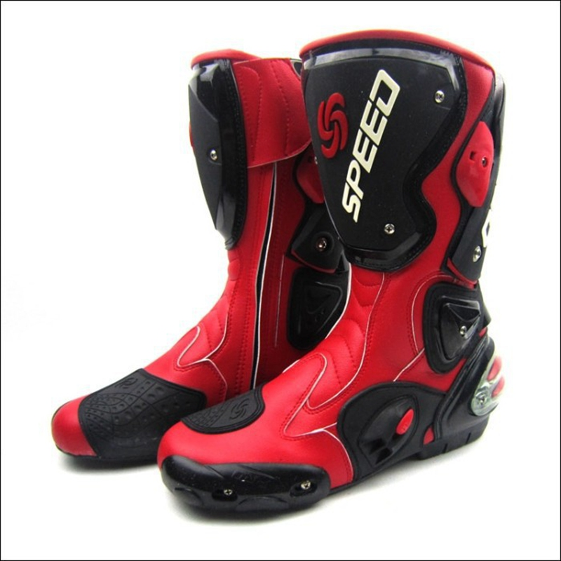Hot Sales Scoyco Brand Motorcycle Shoes Sport Motocross Cycling Long Boots Motorbike Racing Botas Speed Bikers B1001