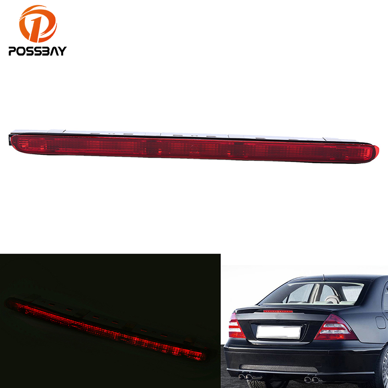 POSSBAY Car Truck LED Tail Rear Bumper Reflective Light Brake Stop Warining Lamp for Mercedes Benz E-Class W203/W211 Sedan&AMG car truck led tail rear bumper reflector light brake stop warining lamp for mercedes benz e class w203 sedan