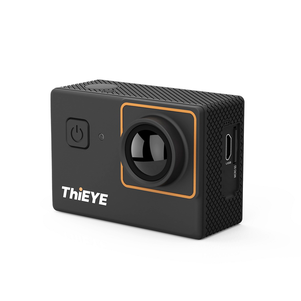 Caméra d'action ThiEYE I30 + Ultra HD 4 K 10fps résolution 12 M et 60 m étanche 2.0 ''caméra d'action écran caméra sport Pro