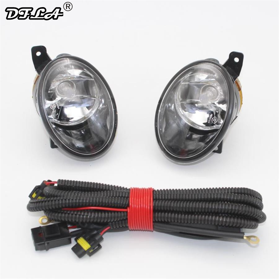 For VW Transporter Multivan Caravelle T5 T6 2010 2011 2012 2013 2014 2015 Car-Stying Front Bumper Fog Lamp Fog Light+Wire car light car styling for vw polo vento sedan saloon 2011 2012 2013 2014 2015 2016 halogen fog light fog lamp and wire