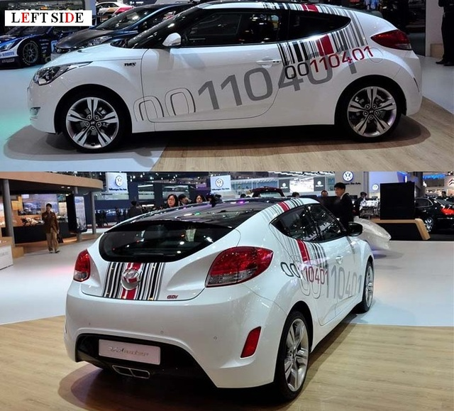 LEFT SIDE Car Stickers and Decals DIY Customization Car Styling ...