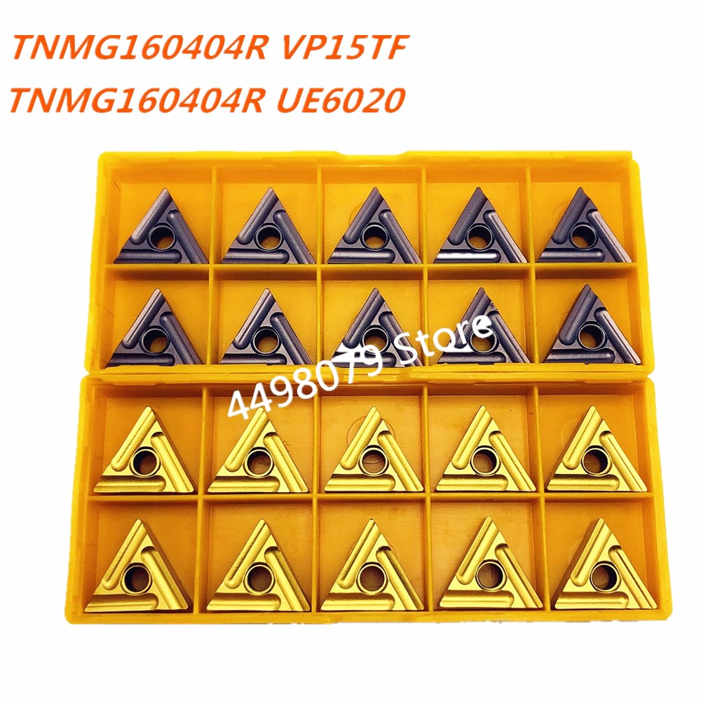 TNMG160404R VP15TF/UE6020 High Quality Carbide Inserts External Turning Tools Metal Turning Tools Machine Tool Parts Lathe Tool
