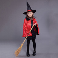 Halloween Witch Shawl Cloak Kids Adult Performance Show Props Clothes Party Cosplay Fancy Dress Costume Products