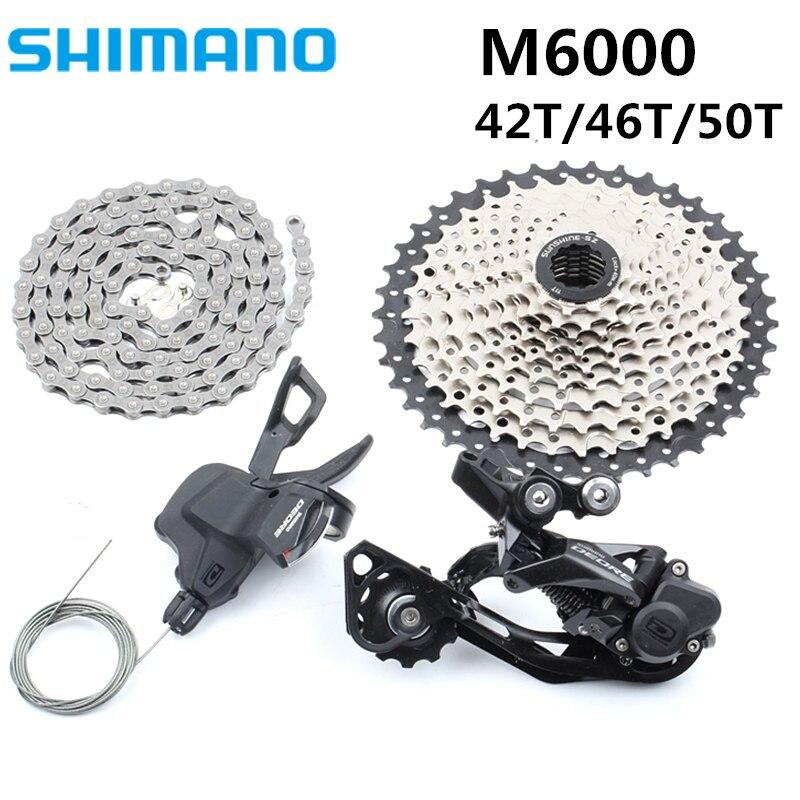 SHIMAN0 M6000 SRAM NX groupe 1x11 10 s groupe vtt GX 170 172.5 175mm VTT Kit vélo Transmission pièces de vélo