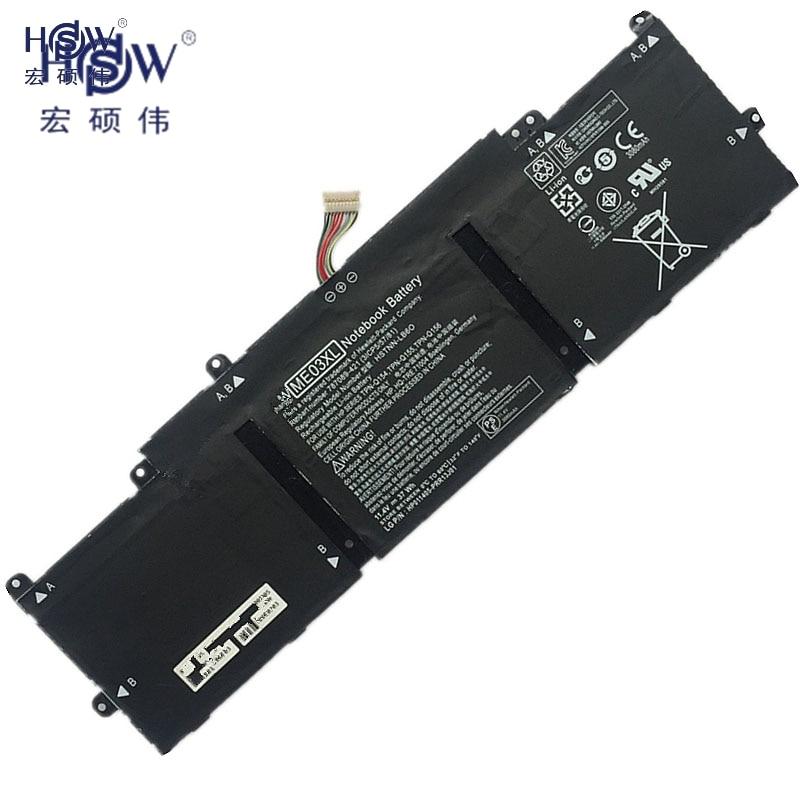 HSW ME03XL  Notebook Battery for HP Stream 11 13 13-C010NR Notebook 787521-005 787089-541 HSTNN-UB6M Laptop Batteries hp hp inc battery 6 cell notebook 470g3 450g3 455 g3