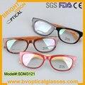 SDM3121 Бесплатная доставка Качество и Стильный для мужская весь рим ацетат рецепту близорукость оптические frame очки очки