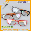 SDM3121 envio Gratuito de Qualidade e Elegante para unisex aro cheio de acetato de prescrição miopia óptico quadro óculos