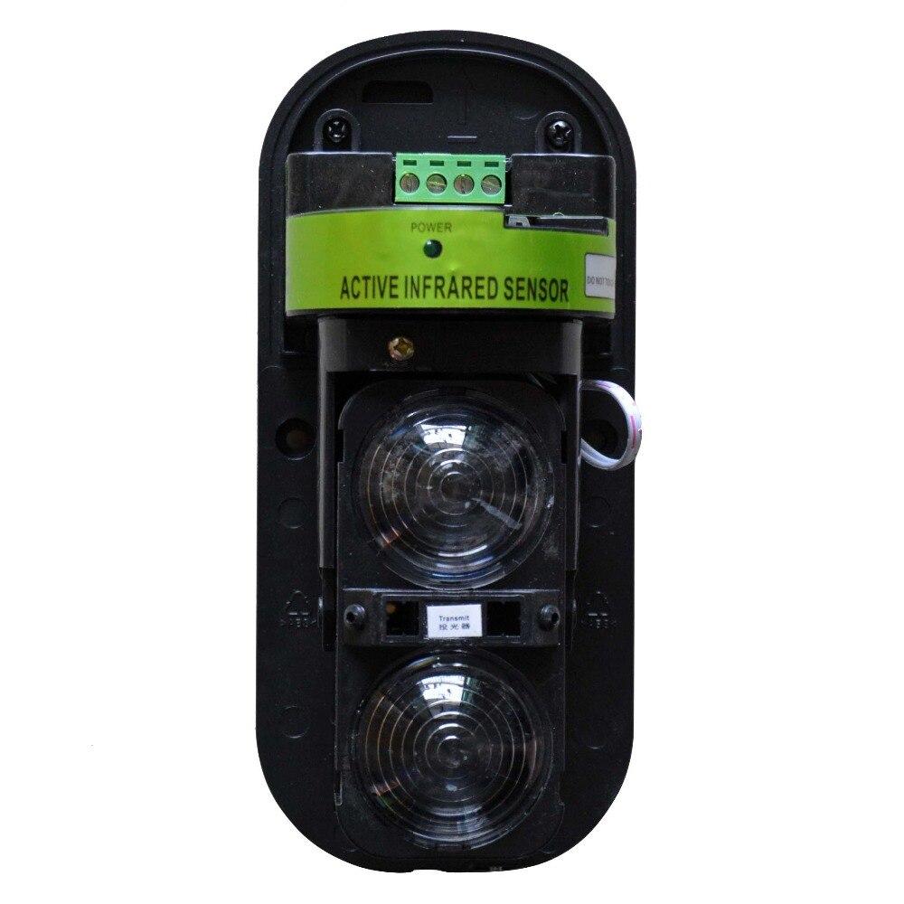 ir sensor duplo feixe infravermelho barreira detector para casa sistema alarme 03