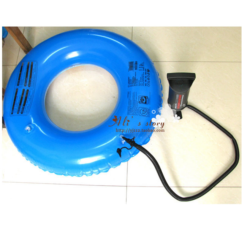 Air Bed Pump Inflatable Boat Pump Lifebuoy inflator Pump new arrival 12v 4800pa ac car electric air pump for camping airbed boat toy inflator