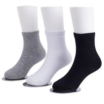 3 Pairs Kids Athletic Socks School Children White Sports Socks Cosy Casual Boys Girls Meias Breathable High Quality Short 3-15Y sock