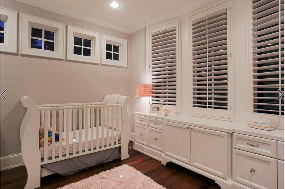 Window Blinds Interior Residential Plantation Shutters Bay Wooden Window Shutters