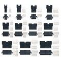 100sets/lot connectors SM 2/3/4/5/6/8/9/10/11/12Pin Pitch 2.54MM Female and Male Housing terminals SM-3P SM-3R JST SM2.54