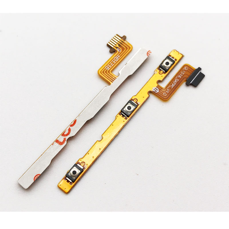 Power ON OFF Switch Button Side Key Volume Up Down Flex Cable Ribbon For ASUS Zenfone 4 MAX Pro ZC554KL