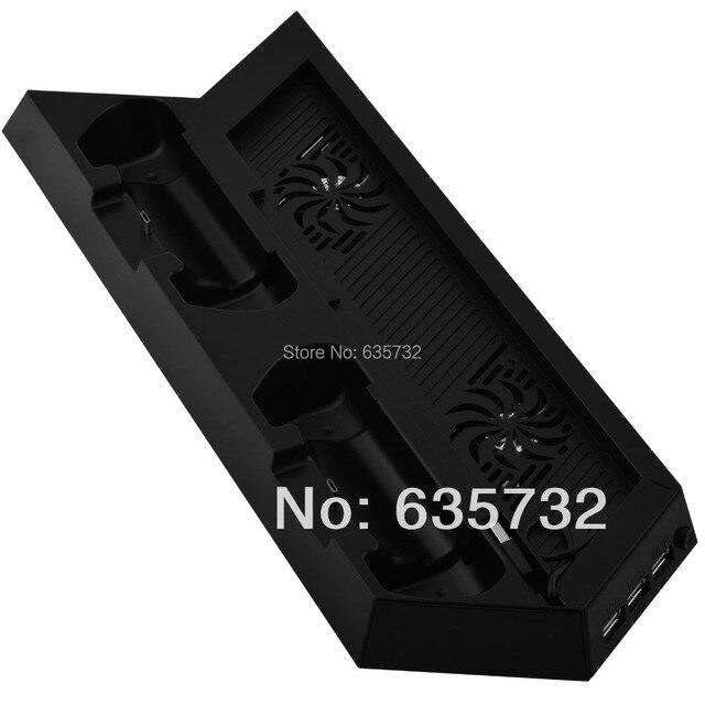 Вертикальные Зарядки Зарядное Устройство Стыковки Стойки Крепление для Playstation 4 для PS4 для Dualshock 4