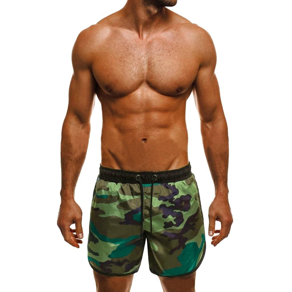 DFSI Mermaid Scales Mens Qiuck-Dry Swimwear Casual Classic-Fit Board Shorts