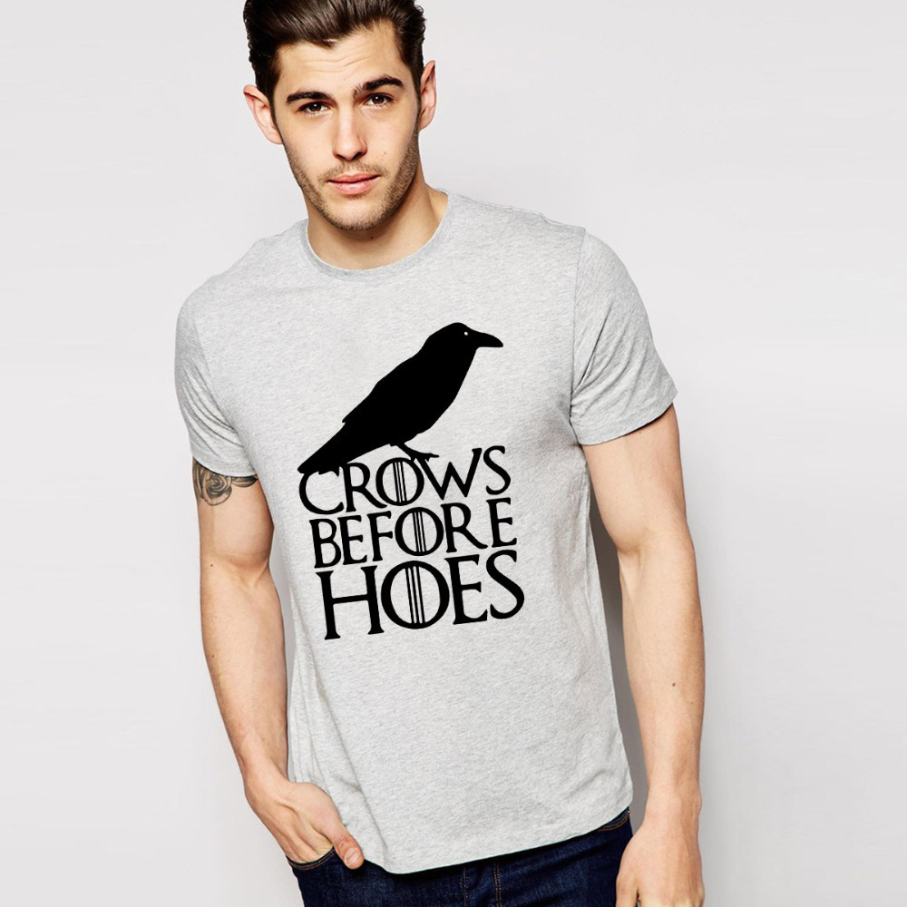 fire vogue reviews online shopping fire vogue reviews on cheap classic a song of ice and fire t shirt o neck vogue game of thrones crows t shirts cotton men s short sleeve shirt
