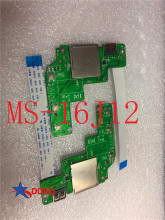 Original FOR MSI Ge72 GE62 GP62 GP72 MS-16J1 MS-16J2 MS-16J3 MS-16J4 MS-16J5 switch BOARD USB MS-16J12 100% working perfect original ms 16j31 for msi gp62 gp72 laptop motherboard ms 16j3 fully tested