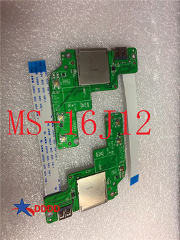 цена на Original FOR MSI Ge72 GE62 GP62 GP72 MS-16J1 MS-16J2 MS-16J3 MS-16J4 MS-16J5 switch BOARD USB MS-16J12 100% working perfect