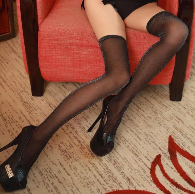 Gorgeous stocking pantyhose