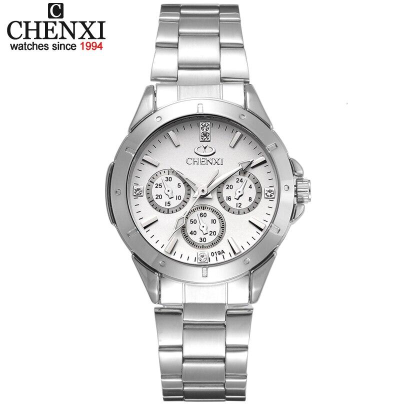 Verkauf uhren frauen mode luxus uhr mode Alle Edelstahl Hohe Qualität Diamant Damen Uhr Frauen Strass Uhren