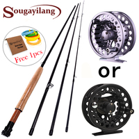 New Fly Fishing Pole 2 7M 4 Sections Fly Rod 5 6 Super Light Fly Fishing