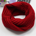 New Fashion Scarves Women Winter Warm Knit Neck Circle Wool Blend Cowl Snood Wool Scarf Scarves Free Shipping,Dec 17