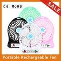 Summer Office Portable Mini Usb Fan USB Rechargeable 1200mAh Li-ion Battery Multifunctional Fan 4.5W Cooling Fan