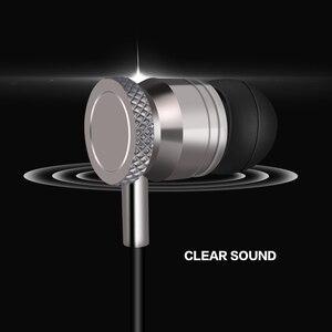 Image 2 - 電話金属ハイファイイヤホンスーパー低音ステレオヘッドホンxiaomi魅用ヘッドセット