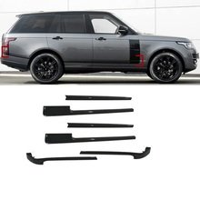 Auto Body Grille Automobile Chromium Upgraded Modified Car Styling Decoration Accessories Protecter 18 19 FOR Range Rover