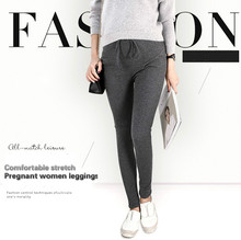 New 95%Cotton Women Pregnant Leggings Adjustable High Elasticity Maternity Leggings Pregnant Pants for Spring Maternity Pants