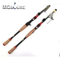 Travel Fishing Rod 1.8m 2.1m 2.4m 2.7m Spinning Fishing Rod ML Hard Telescopic Fishing Rod Carbon Fiber Casting Rod