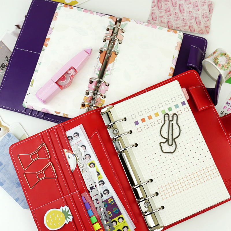 Yiwi JAMIE Σημείωση Vintage Creative A5 A6 Planner - Σημειωματάρια - Φωτογραφία 4