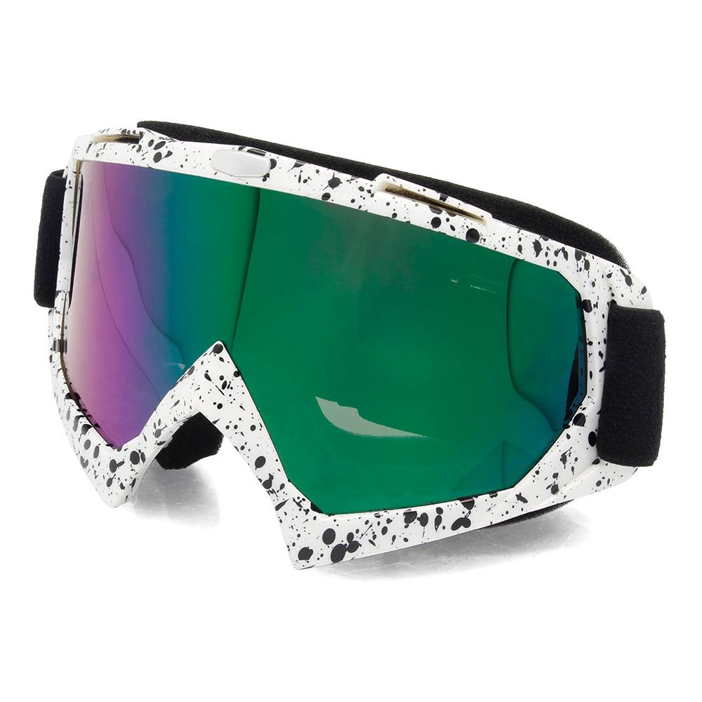 Motorcycle ATV Dirt Bike Off Road Unisex Adult Windproof Anti-Fog Skiing Goggles Snow Glasses Eyewear UV400 D30
