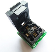 Gratis verzending TQFP32 QFP32 LQFP32 OM DIP28 adapter socket ondersteuning ATMEGA8 ATMEGA8A ATMEGA328 AVR MCU TL866A TL866II