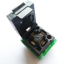 무료 배송 TQFP32 QFP32 LQFP32 TO DIP28 어댑터 소켓 지원 ATMEGA8 ATMEGA8A ATMEGA328 AVR MCU TL866A TL866II