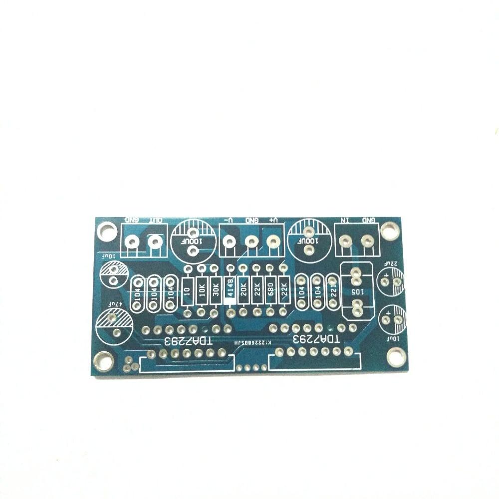 2pcs/lot  Shunt two TDA7293 amplifier board 170W mono empty PCB (no parts)2pcs/lot  Shunt two TDA7293 amplifier board 170W mono empty PCB (no parts)