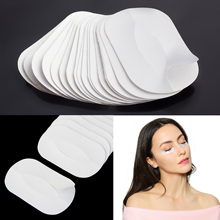 цена на Free Shipping 20Pcs Silk & Lint Free Under Eye Patchs Pads Stickers Eyelashes Extension Tool