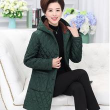 Women parka coat Padded jacket Fashion female models in the long section hooded