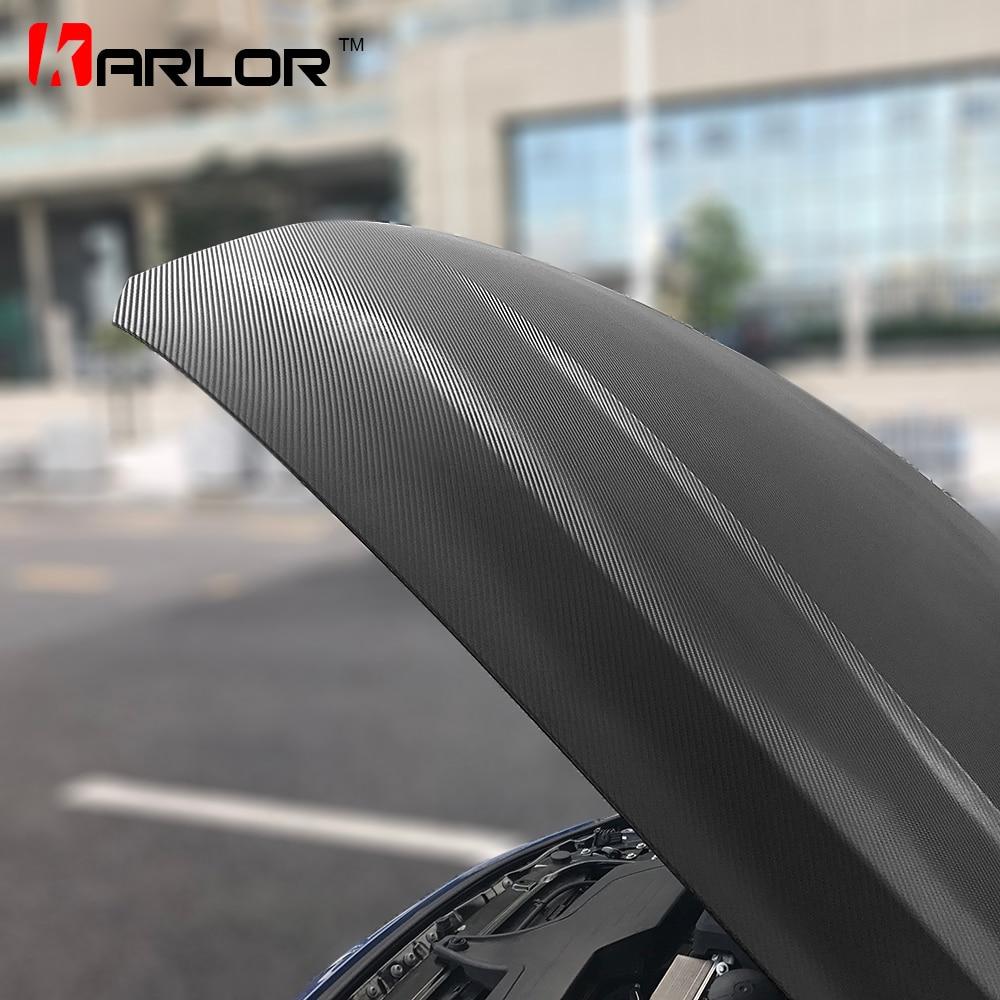 2 m/5 m/10 m/20 m X 152 cm 4D Film de vinyle en Fiber de carbone autocollants de voiture en Fiber de carbone feuille d'enveloppe rouleau Automobiles accessoires de voiture