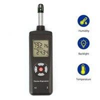 디지털 lcd 온도계 습도계 온도 및 습도 측정기 psychrometer 습식 전구 이슬점 온도 검출기