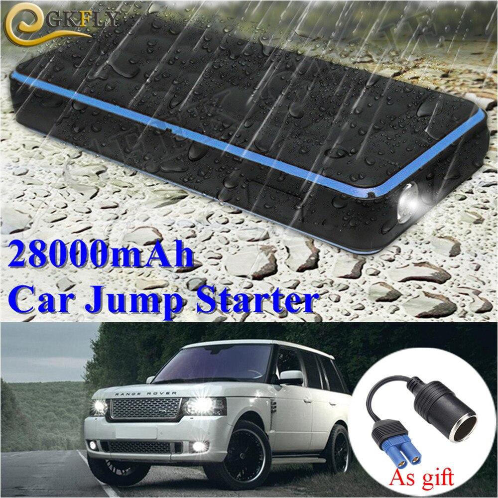 Super étanche 28000 mAh voiture saut démarreur batterie externe 12 V 1000A Portable dispositif de démarrage chargeur de voiture pour essence 8.0L Diesel 6.0L