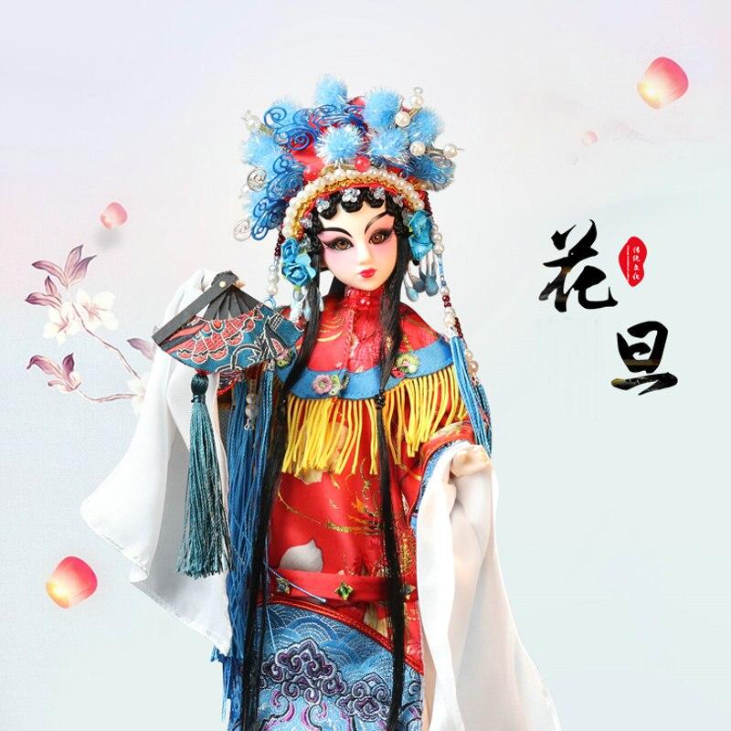 1/6 Bjd poupée à la main opéra de pékin HUADAN poupée 14 boules articulées poupées filles jouets cadeau d'anniversaire Collection cadeau de noël