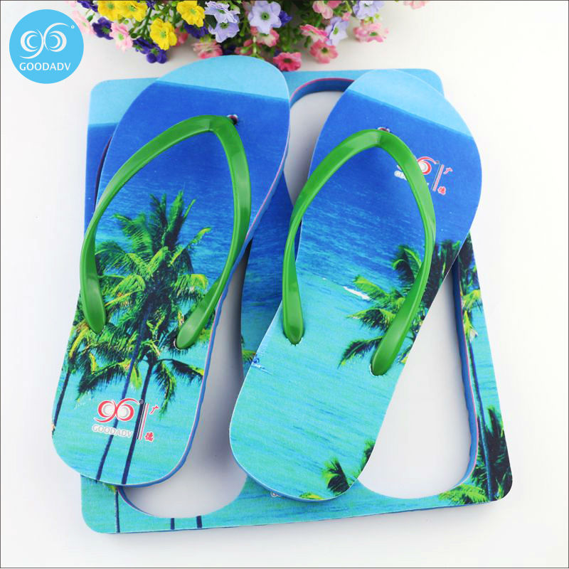 a5d927d0a7861 China Fashion New Design Slipper colorful Printed Latest Flip Flops welcome  custom-in Slippers from Shoes on Aliexpress.com