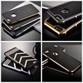 Para iphone 5s casos de lujo retro case duro plástico de doble capa para apple iphone 5 5s 5g híbrido tpu delgado cáscara resistente